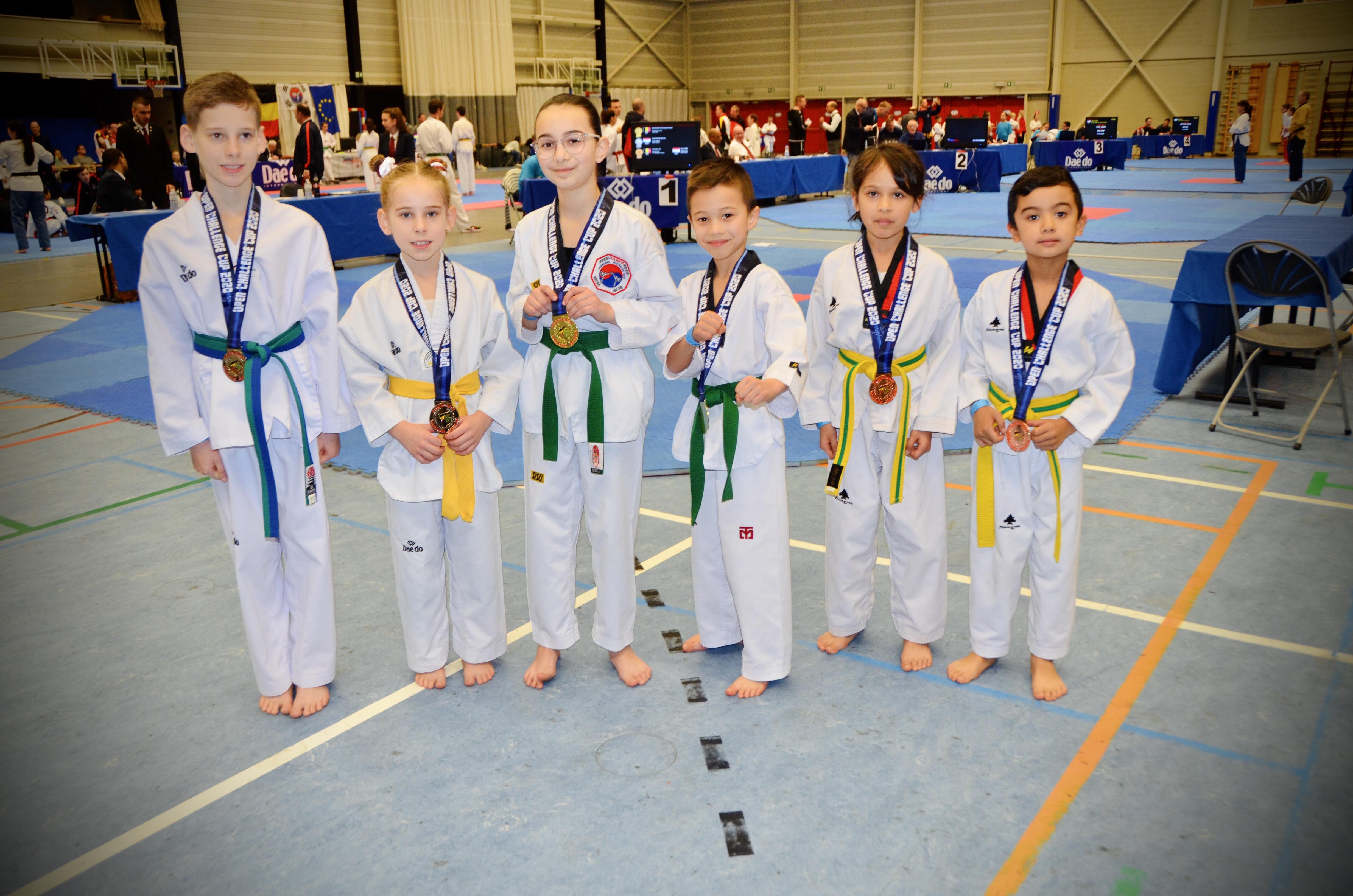 BK Poomsae - Senne en Aysu 1e plaats