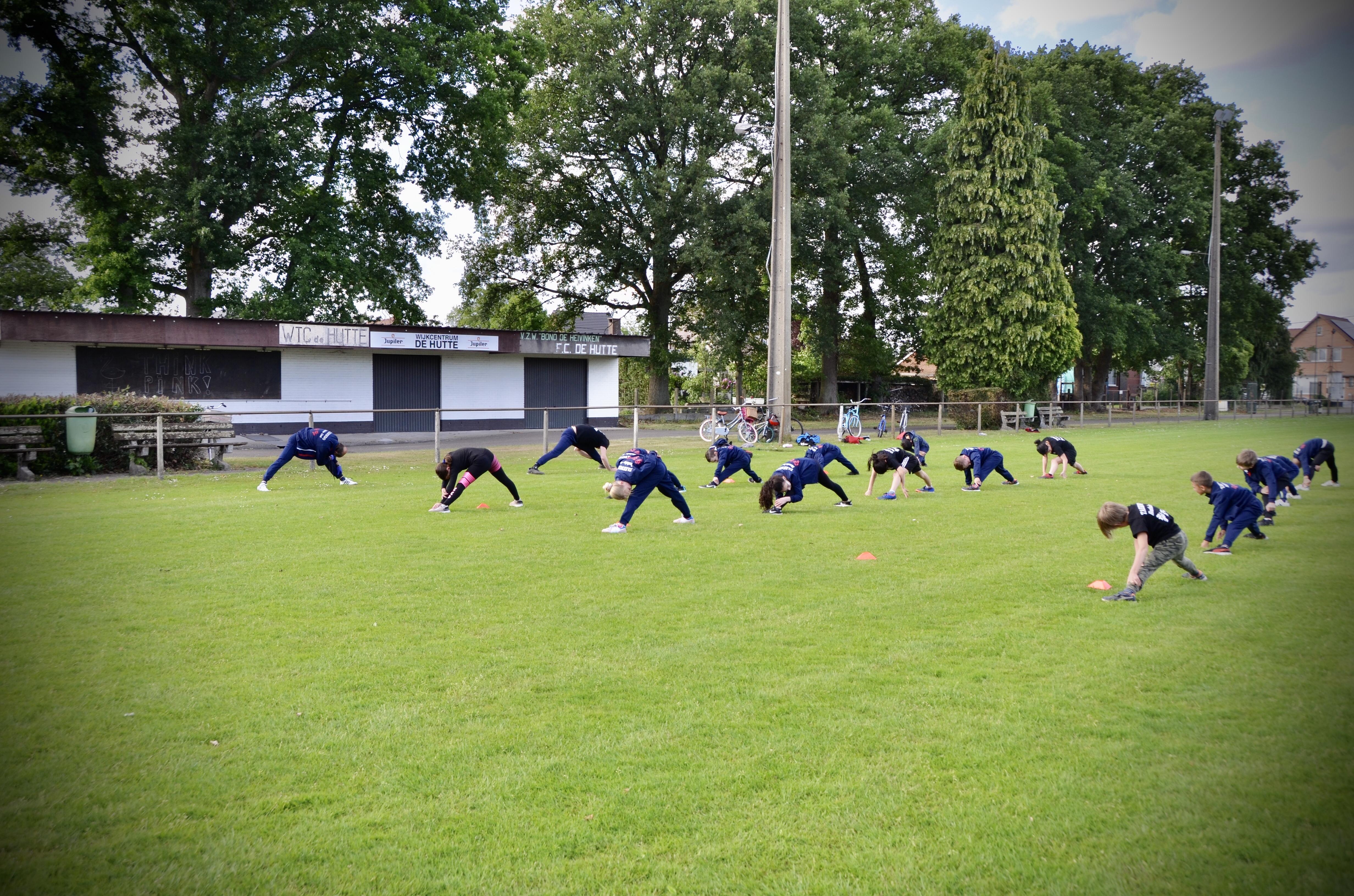 Corona training - De Hutte